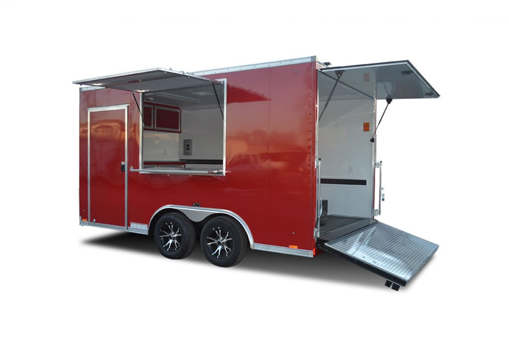 Element SE - Concession Trailer- Awning Doors - LOOK Trailers