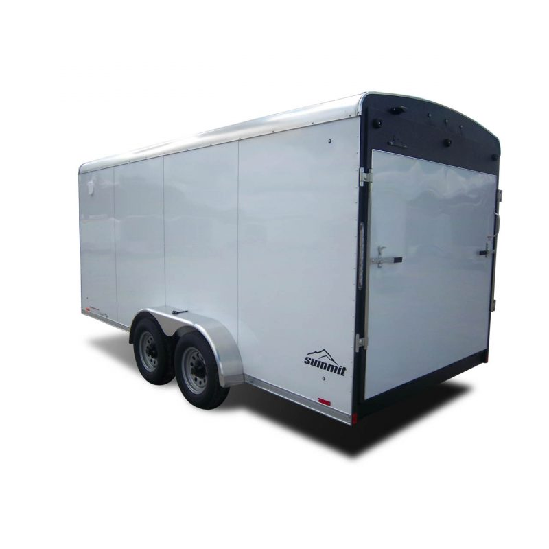Summit - Landscaping - Cargo Trailer - White - LOOK Trailers