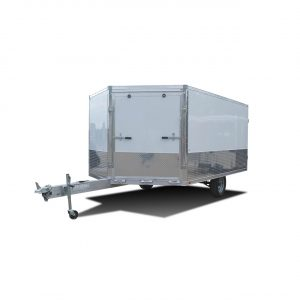 Drift Aluminum - Snow Trailer - Snowmobile Trailer - White - UTV Trailer - LOOK Trailers