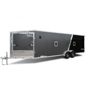 Avalanche Aluminum - Two Tone - Deck Over - Cargo Trailer - Snowmobile Trailer - UTV Trailer - LOOK Trailers