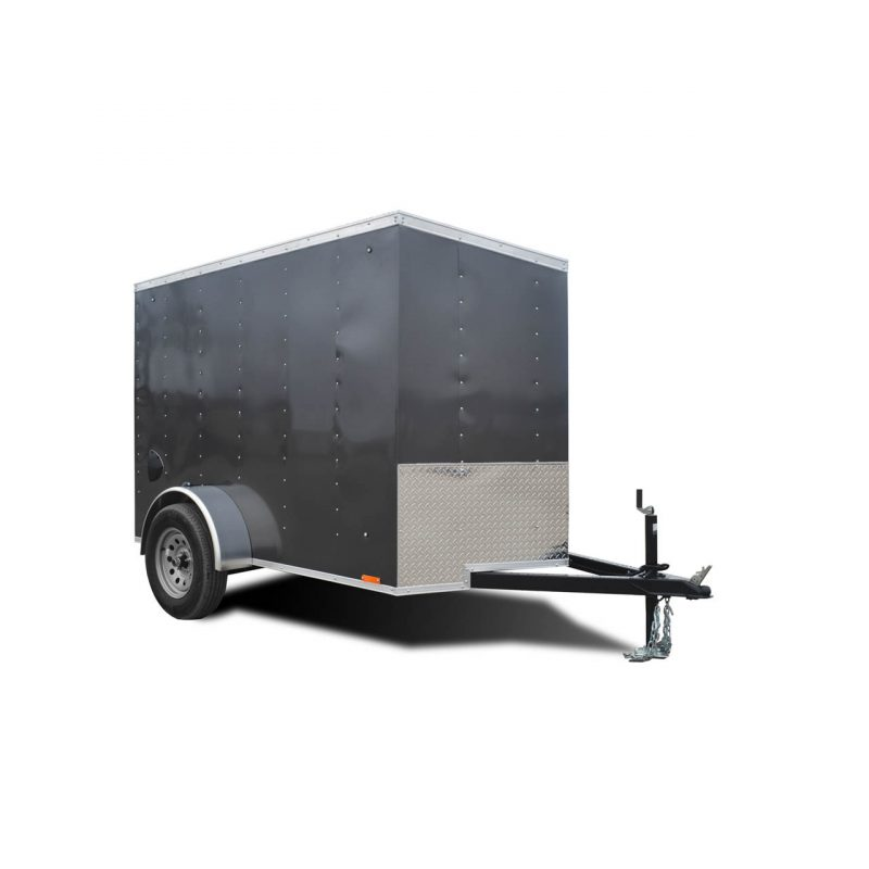 Element SE - Cargo Trailer - Silver - Custom Trailer - LOOK Trailers