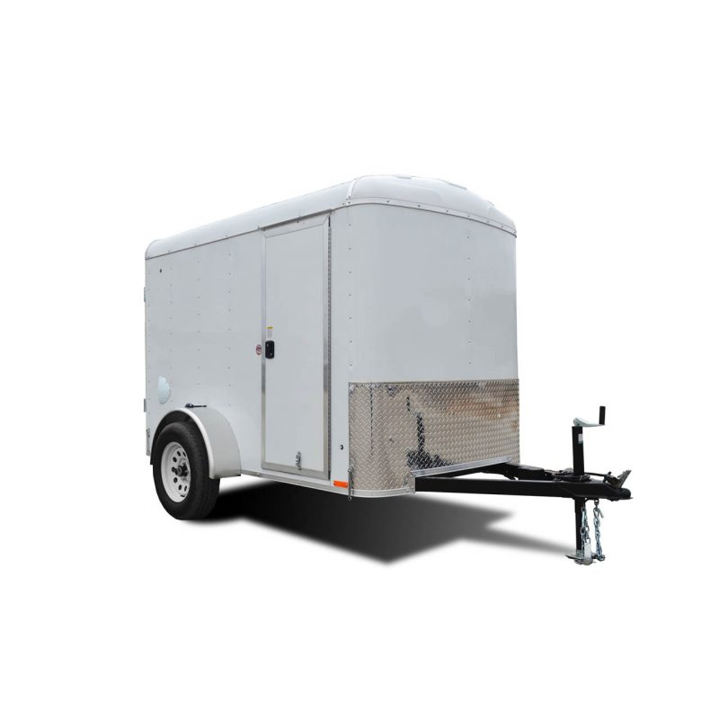 Element SE - White - Cargo Trailer - LOOK Trailers