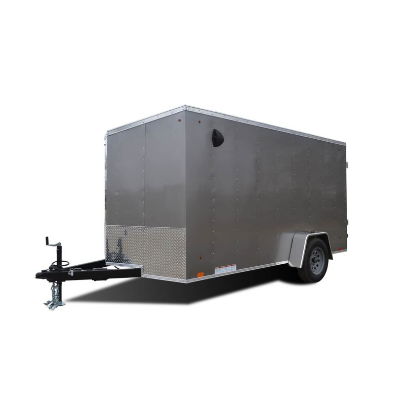 Element SE - Silver - Cargo Trailer - LOOK Trailers