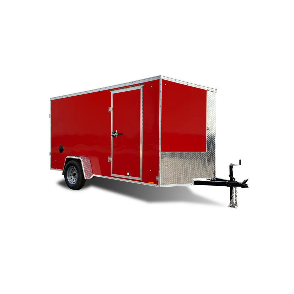 Element - Cargo Trailer - LOOK Trailers - Red