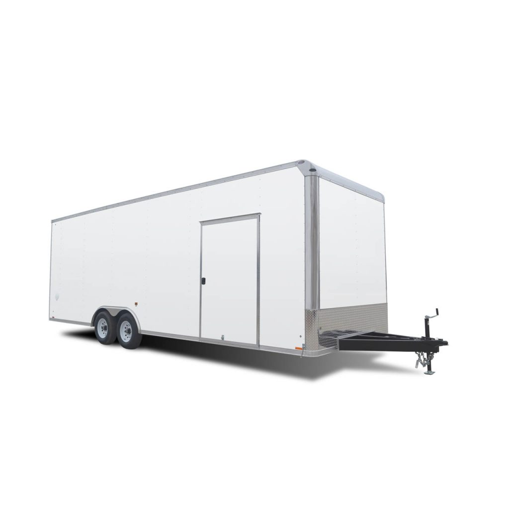Ignite Gooseneck - Race Trailer - White - LOOK Trailer
