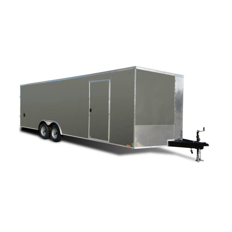 Element SE - Cargo Trailer - Gray - Auto Hauler - LOOK Trailers
