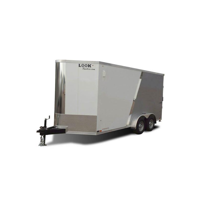 Vision - Cargo Trailer - Flat Top - Bullnose - LOOK Trailers