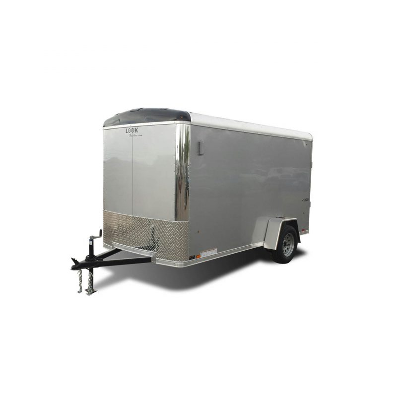 Vision - Round Top - Gray - Cargo Trailer - LOOK Trailers