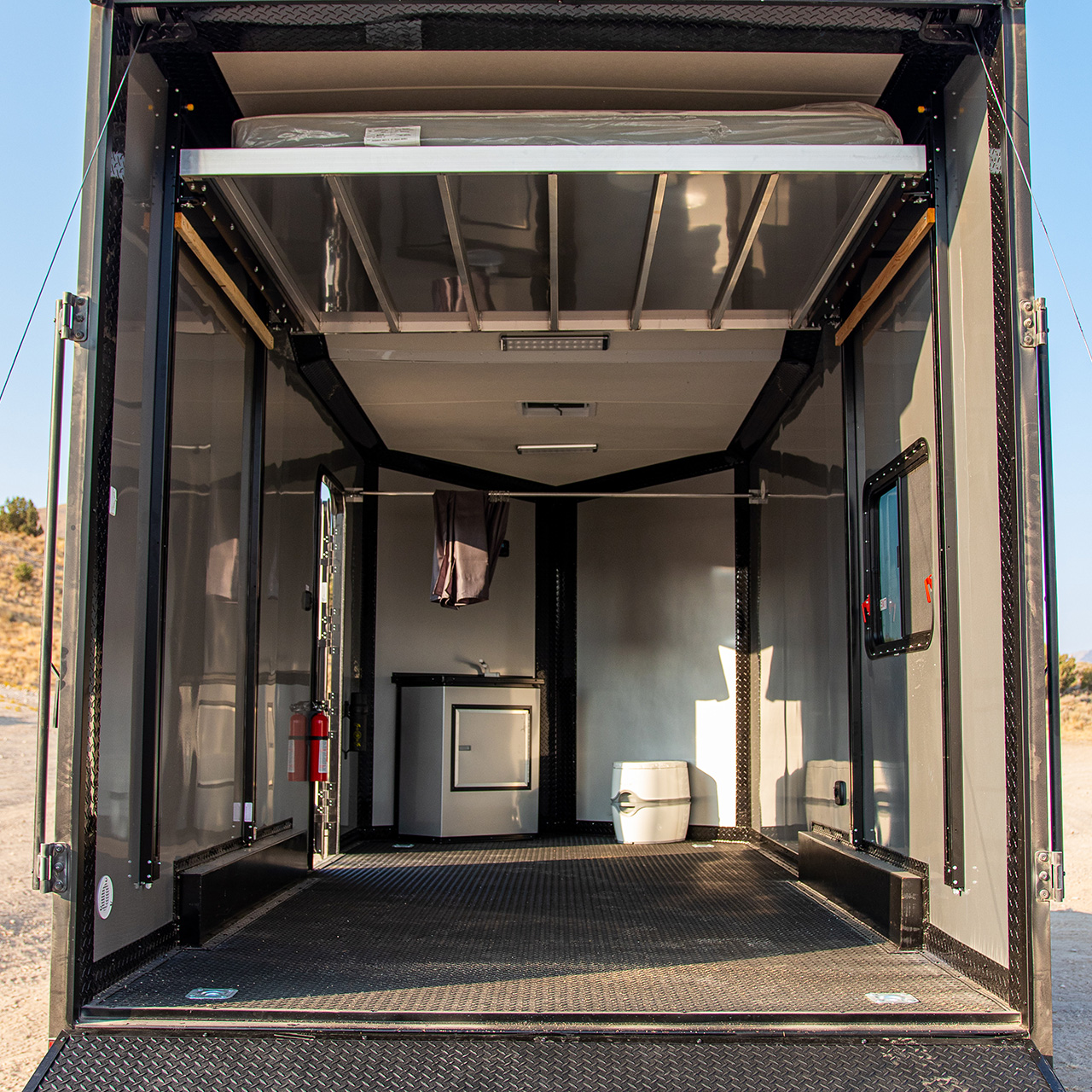 Our off-road trailers are constructed to provide an impressive amount of conveniences to your next excursion.