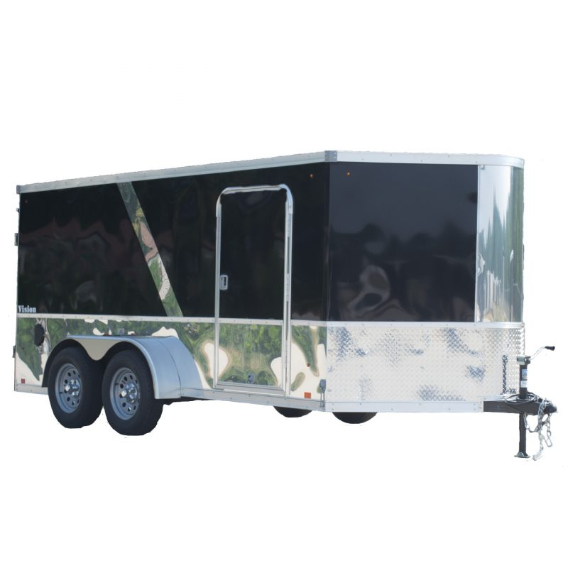Vision Motorcycle Trailer - Two Tone - LOOK Trailers