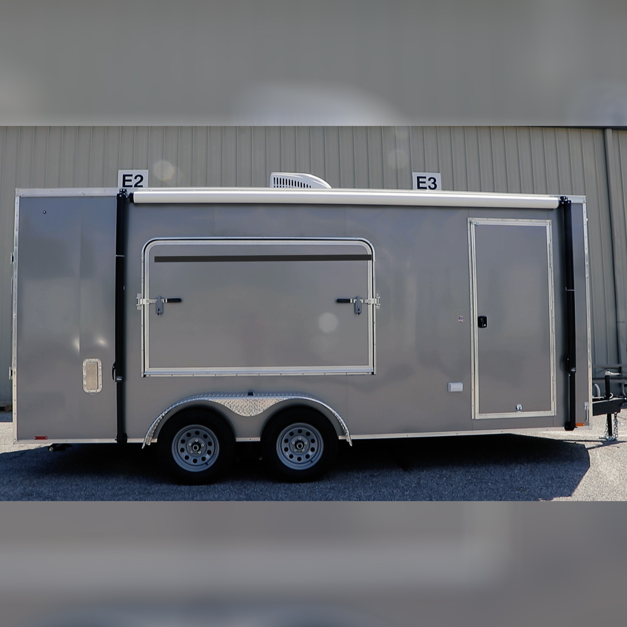 Camping Trailer - Off grid - Mobile Camping - Cargo Trailer