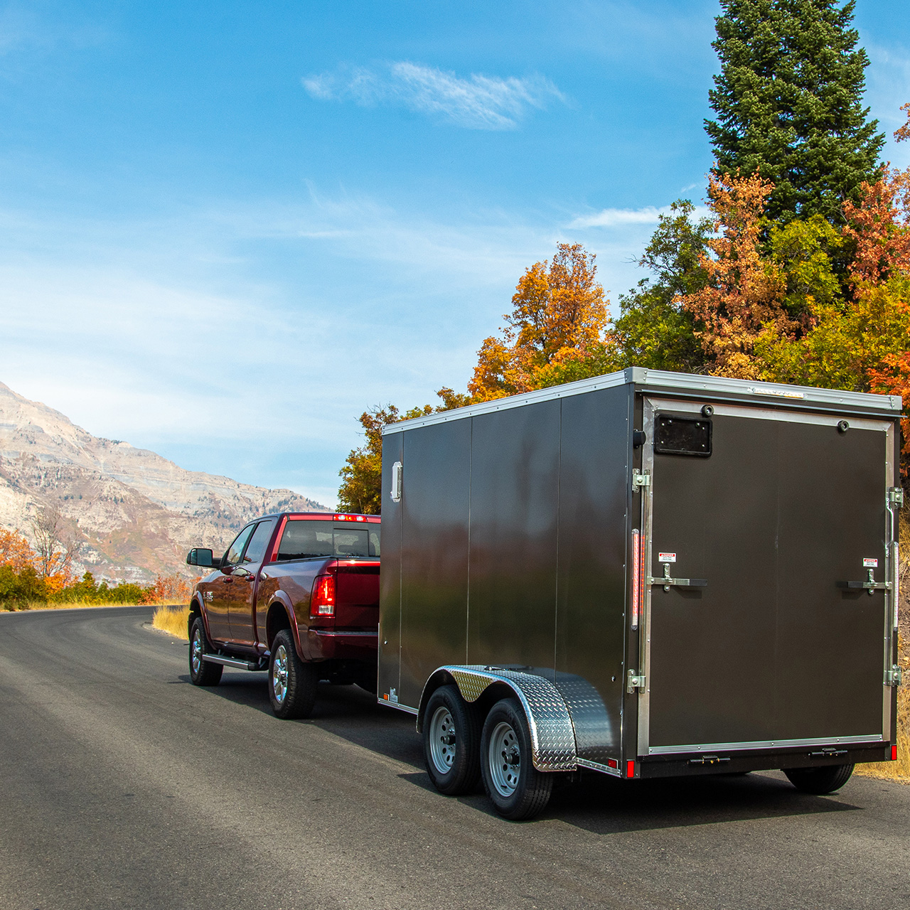 Element - Cargo Trailer - Gray- LOOK Trailers