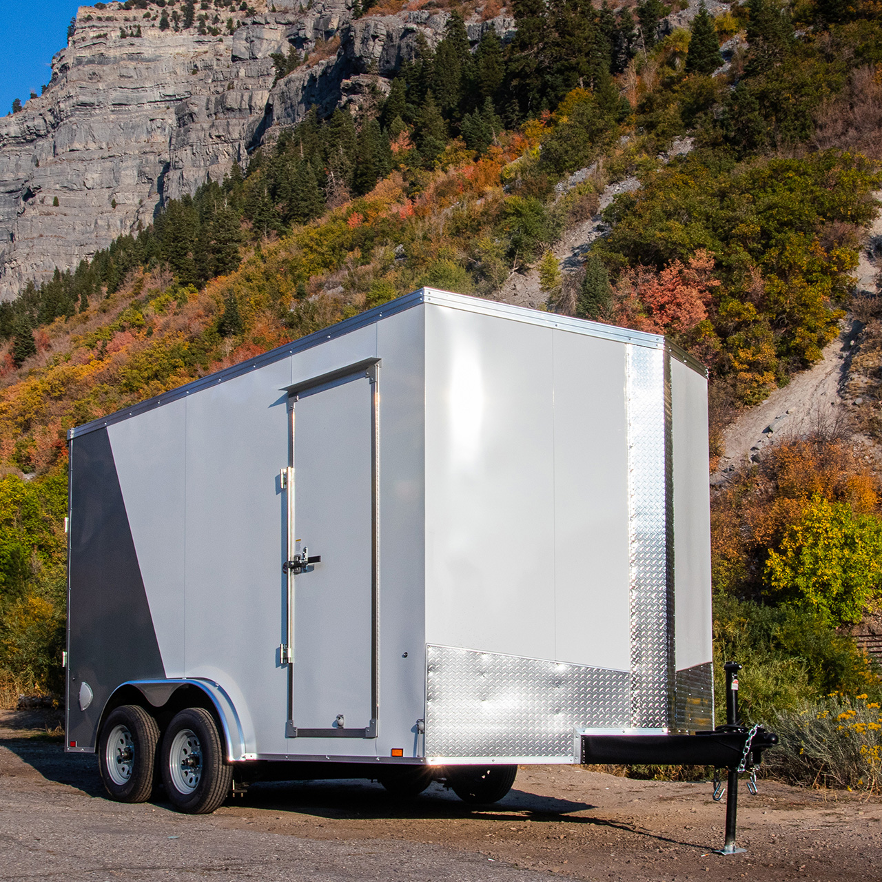 Element SE - Cargo Trailer - Two Tone - Custom Trailer - LOOK Trailers
